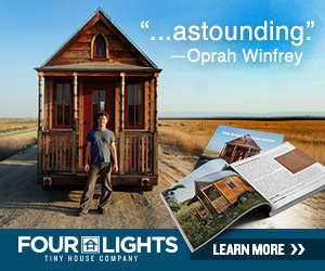 Image obtained from Four Lights Tiny Houses, no copyright infringement intended