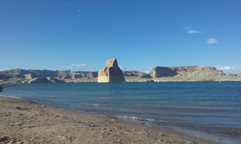 Lone Rock Beach at Lake Powell - this place is one I will return to again, and again, and again.