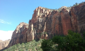 Zion National Park, before the storm.
