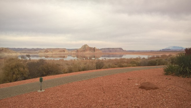 view from sitting out back near the Lake Powell Resort - if you can go there, I highly suggest it. Imagine having this view outside of your hotel room!